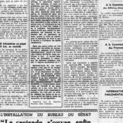 Parmi ces titres de journaux, lequel est un journal clandestin de la Résistance ?